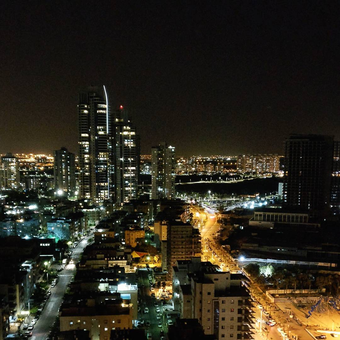 Bat Yam at Night