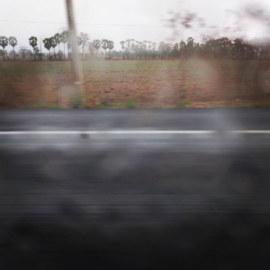 Road Trip in Rain